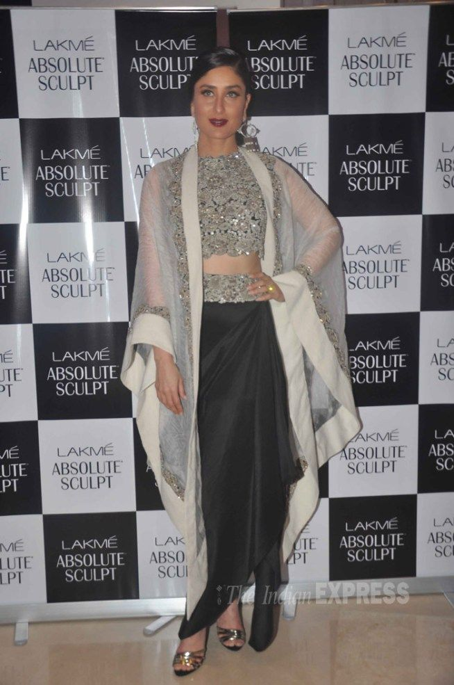 Kareena Kapoor at the Lakme Fashion Week 2015. #Bollywood #Fashion #Style…