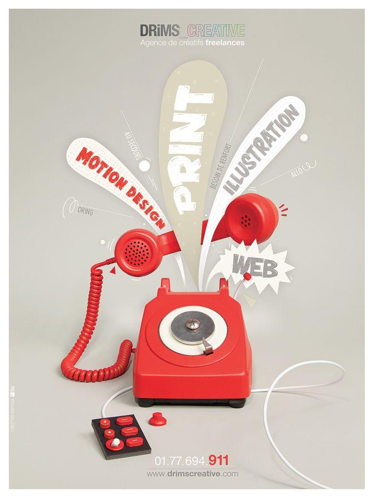 drims creative - affiche - Portfolio Max Elbling