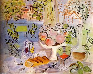 Nature morte  ~ Raoul Dufy ~ (French: 1877-1953)