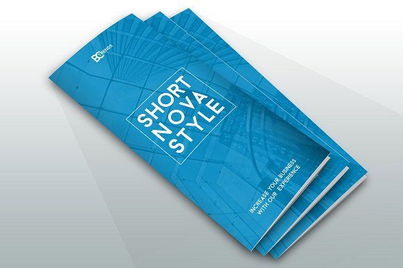 Brochure Nova Style by Creative Template on @creativemarket brochure design templates 3 fold brochure template tri fold brochure design leaflet template tri fold brochure template word online brochure maker print brochures 3 fold brochure brochure template