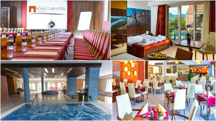 Céges rendezvényt tervez? A történelmi múlttal rendelkező Visegrád legmodernebb szállodája a Royal Club Hotel**** egyedi elrendezésű és méretű termekkel rendelkezik. A termek felépítése és kialakítása alkalmas tréningek, továbbképzések, fogadások, konferenciák, céges évértékelők, csapatépítő programok céges bulik megtartására az év bármely napján! ;)