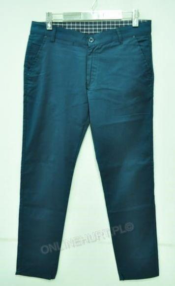Spodnie Męskie Wizytowe Artista 343  _E1 (30-38) Morski