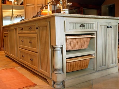 Kitchens With Tobacco Colored Cabinets