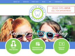 New listing in Dentists added to CMac.ws. Austin Family Dentistry in Austin, TX - http://dentists.cmac.ws/austin-family-dentistry/86410/