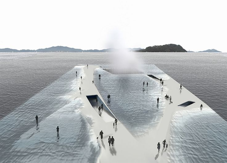 This breathtaking platform lets users walk into the sea in an experience that feels like floating in and on the water.