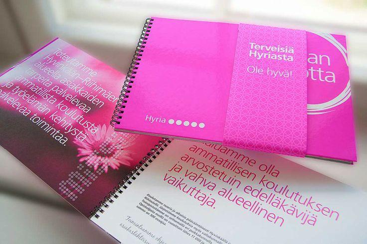 Hyria – annual report.  Intro Design.