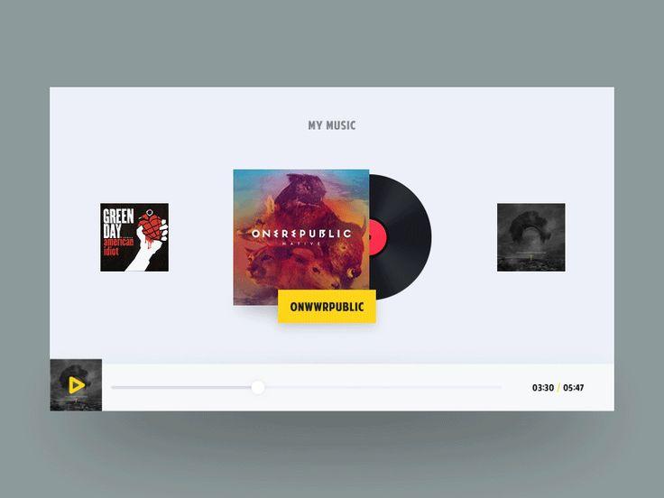 UI Interactions of the week #5 — Muzli -Design Inspiration