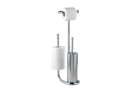 Wenko Toilet standaard - Salo - 23 cmx62.5 cmx20 cm - Chroom