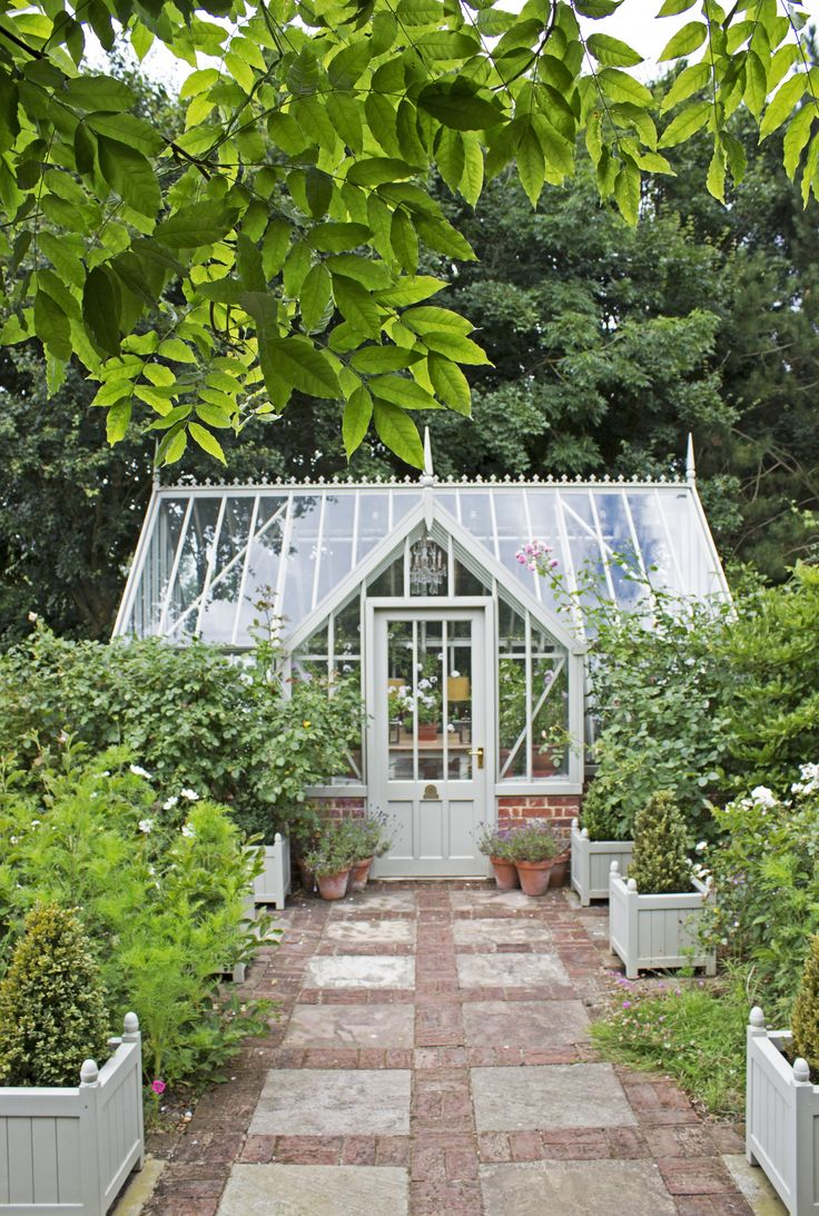 Woodsage Mottisfont greenhouse from the National Trust collection at Alitex