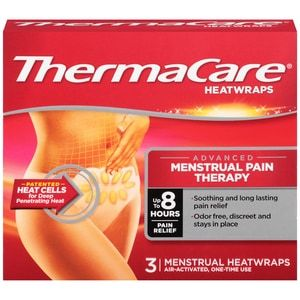 ThermaCare Menstrual 8 HR, 3CT
