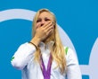 Ruta Meilutyte of Lithuania - Swimming gold medal in 100m breaststroke