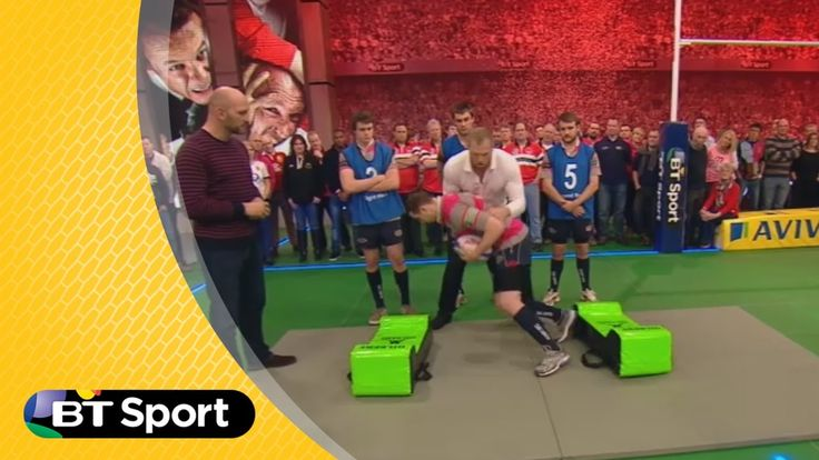 Pitch Demo: James Haskell's Breakdown drill masterclass | Rugby Tonight