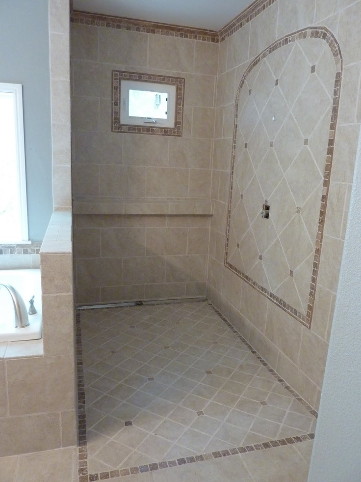 1000 Images About Doorless Shower On Pinterest