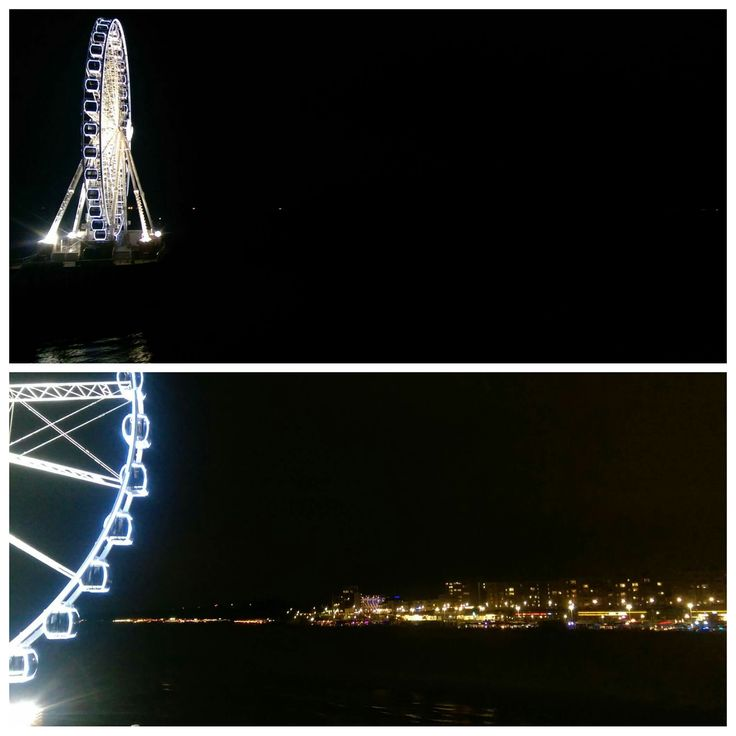 Don't miss the ride on Ferris Wheel. It is right out in the sea at the end of a pier. You can get some fantastic food and drink on pier and then head to the wheel and oh get that camera ready. You can take some fantastic photos especially during night time when all lights are on.