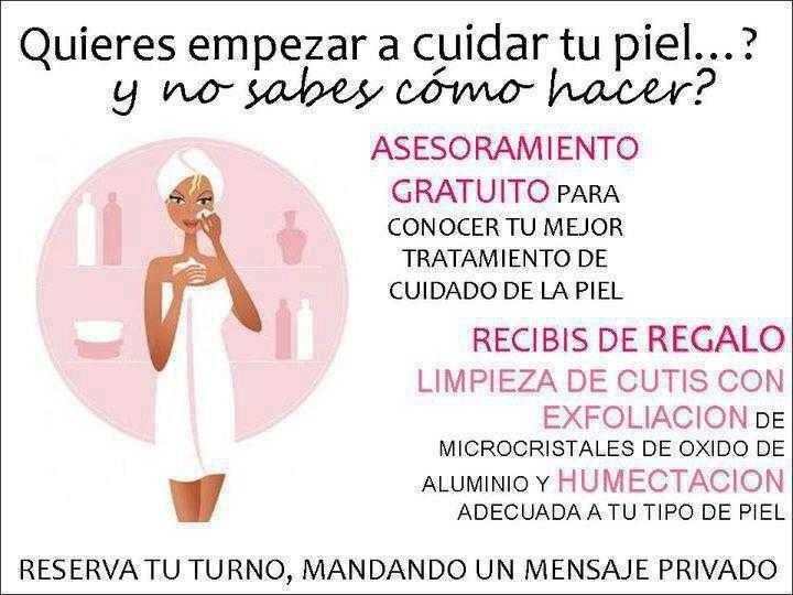 Si quieres cuidar tu piel te puedo asesorar en todo lo que necesites. www Facebook.com/rdelavina.MKconsultant Miami FL