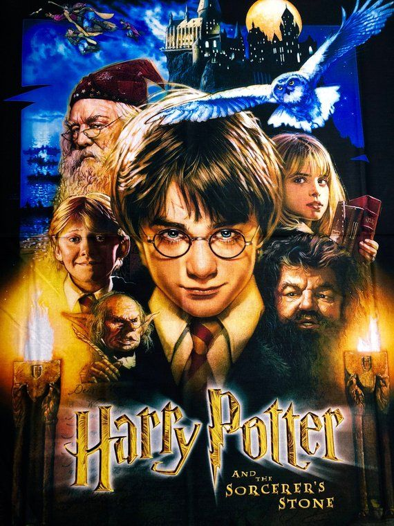 A Day In Movie History Nov 4 2001 Harry Potter And The Philosopher S Stone 1st Film Adaptation Of The Books By J K Ro Movie History Harry Potter 1 Film