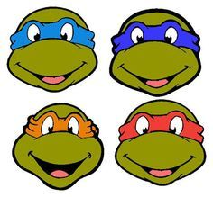 Free download Tmnt Outline Clipart for your creation.
