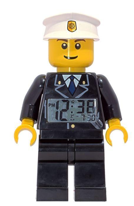 Lego Wekkers : CT9002274 LEGO Police Wekker