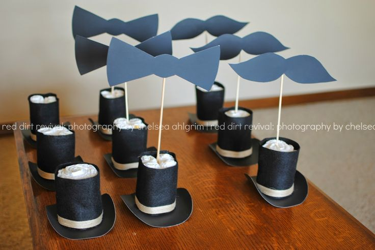 little gentleman baby shower decorations - Google Search