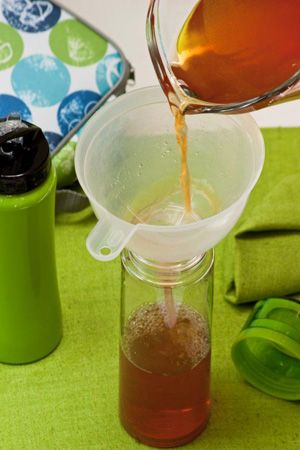 Iced Rooibos Tea with Apple- INA PAARMAN