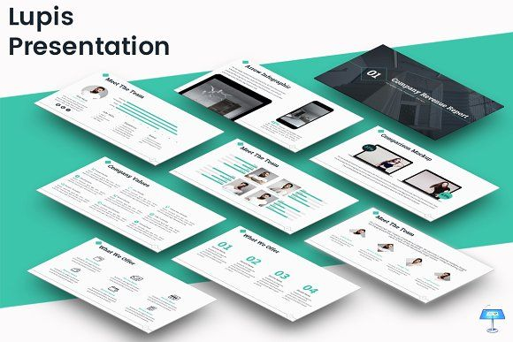 Lupis - Keynote Template by inspirasign on @creativemarket