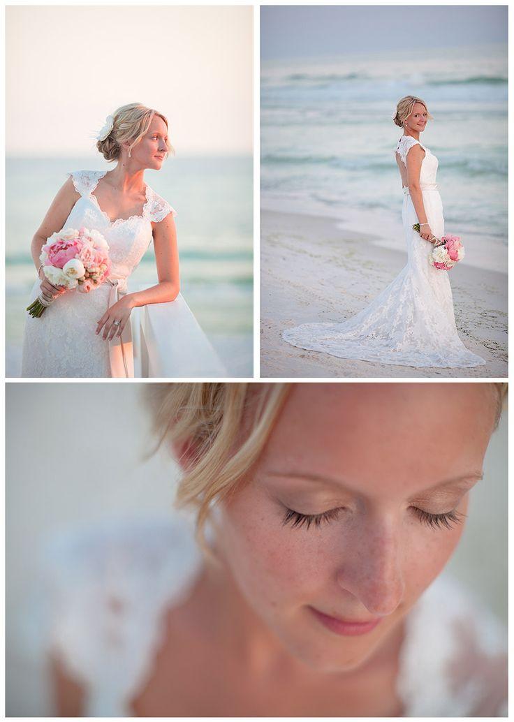 beach wedding bridal