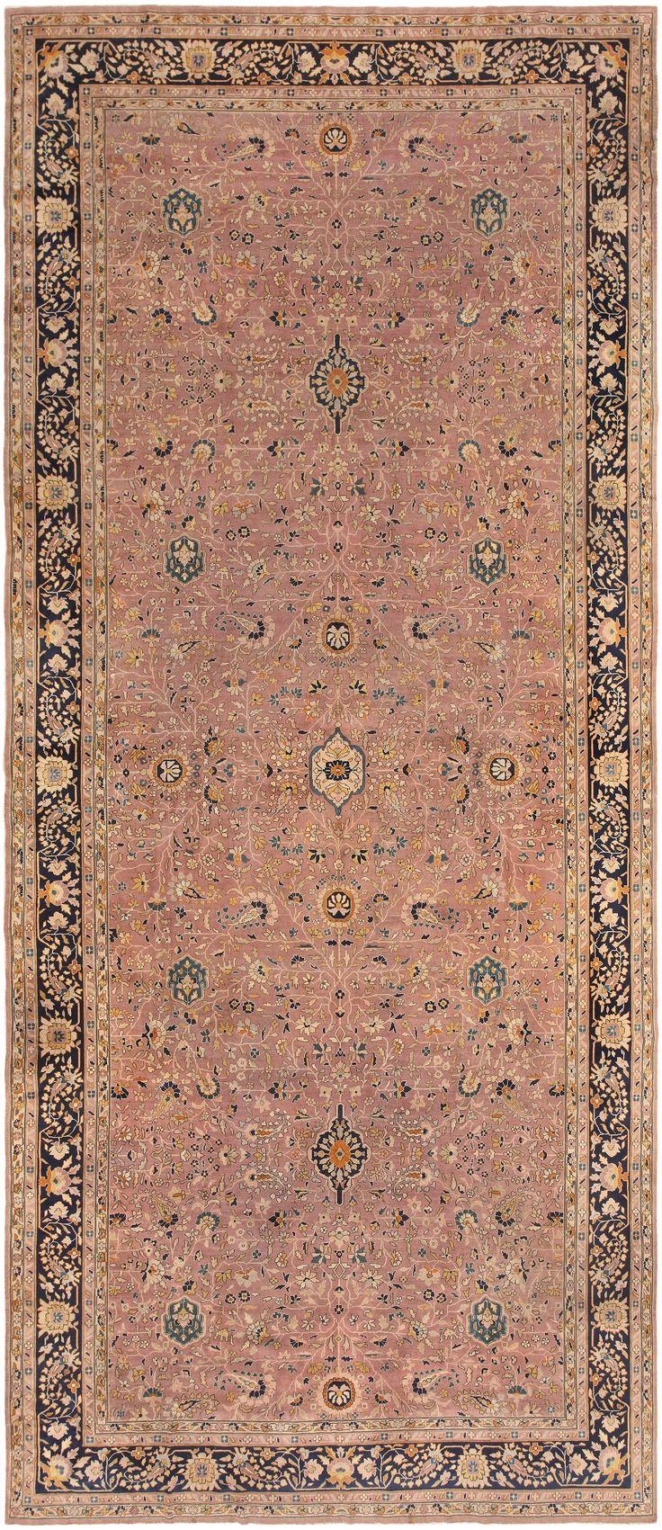 High Quality Large Antique Lavender Indian Rug 46761