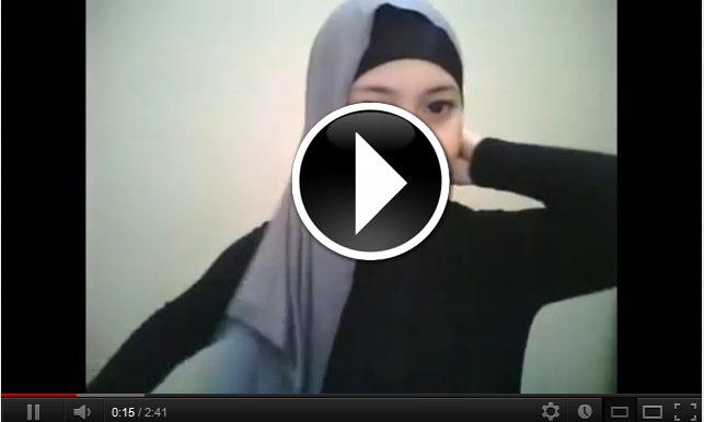 Cara Memakai Pashmina Sifon   Cara Memakai Jilbab