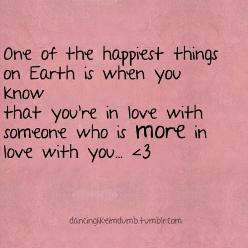 You Know You Re In Love When Quotes: You're In Love With Someone Who Is More In Love With You