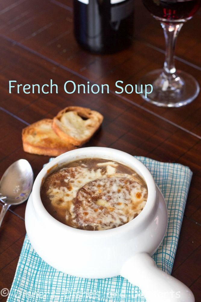 French Onion Soup | @dinnersdishesdessert 15 min prep; 90 min cook