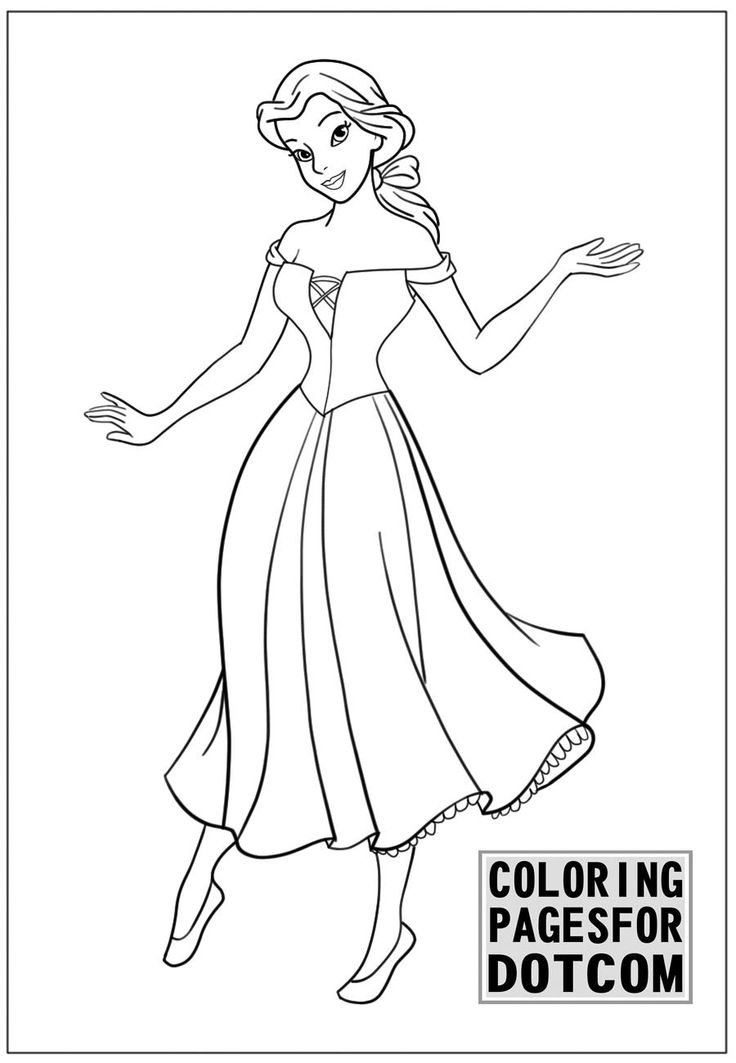 disney princess coloring pages 1 is created by httpcoloringpagesforcom