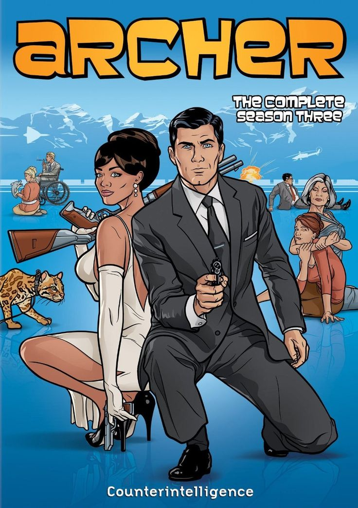 974. Archer, Season 3 (2012) Adam Reed
