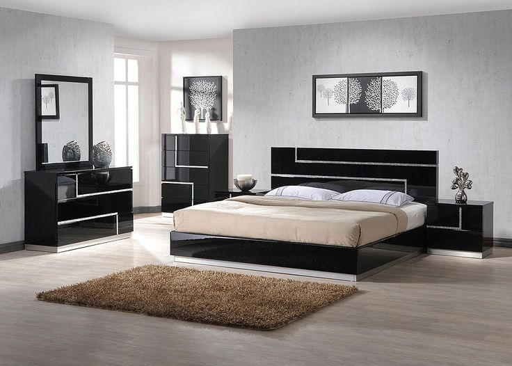 Black Bedroom Furniture stunning bedroom bed sets images - room design ideas