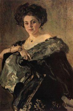 Портрет Евдокии Морозовой, 1908 Валентин Серов