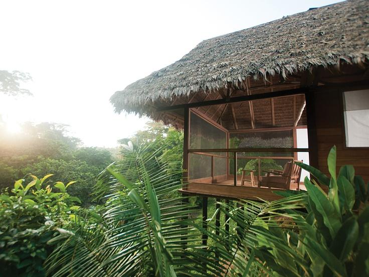 Hacienda Concepción, Puerto Maldonado, Peru, is a rebuilt 15-unit hacienda on 2,000 private acres in Tambopata, one of the Peruvian Amazon's top natural reserves.