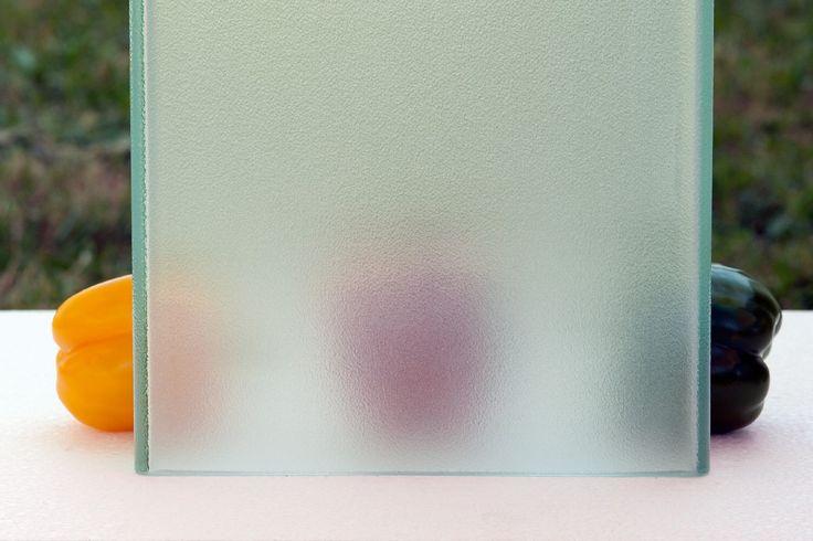 Pilkington Profilit™ Opal - sandblasted profiled glass with a standard pattern.