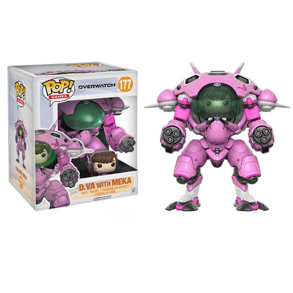 Buy Overwatch D.Va with Meka 6-inch Pop! Vinyl Figure from Pop In A Box US, the Funko Pop Vinyl shop and home of pop subscriptions.