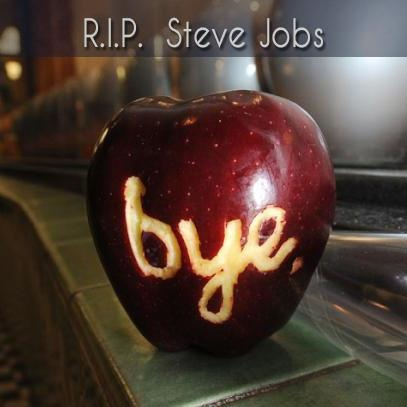 Farewell, Steve Jobs.  You made a positive impact in the lives of so many people.  Thank you.