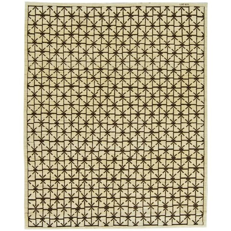 Traditional Oriental Inspired Rug | From a unique collection of antique and modern central asian rugs at https://www.1stdibs.com/furniture/rugs-carpets/central-asian-rugs/