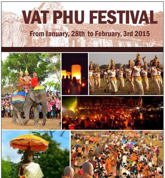 Boun Wat Phou Champasak Festival