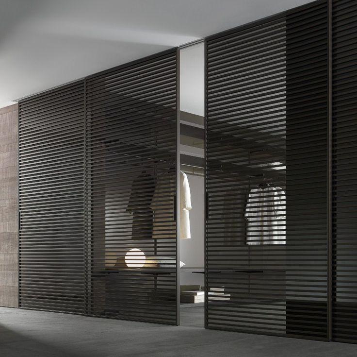 Design binnendeur van het Italiaanse high-end merk RIMADESIO. Nieuw in de collectie 2013 de glazen binnendeur EVEN