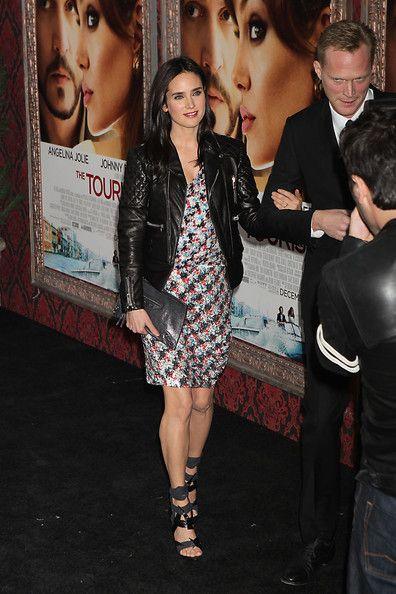 Jennifer Connelly in Balenciaga.