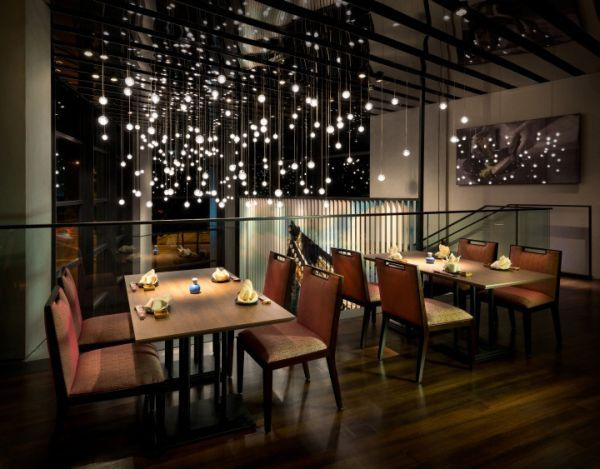 Restaurant Bar Design Ideas i like the bar top and the backlit area of the front too commercial interior designcommercial 13 Stylish Restaurant Interior Design Ideas Around The World