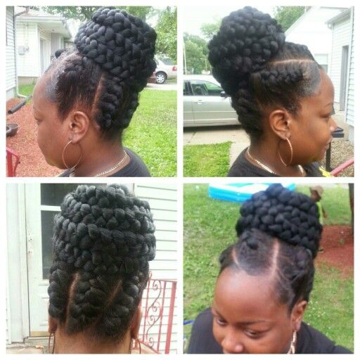 under braids hairstyles : images about Hairstyles on Pinterest Flat twist, Protective styles ...