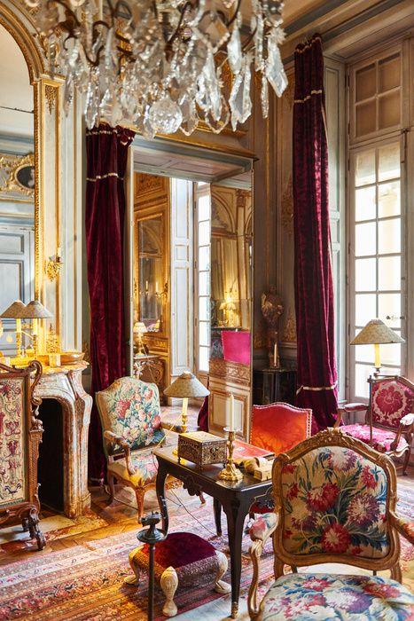 Joseph Achkar, Michel Charriere, Hotel du Duc de Gesvres, Paris, Monsigny, Achkar Charriere, Interiors, Antics, Hotel particulier, Luxury residence, decoration, Quentin Moyse, Moyse.