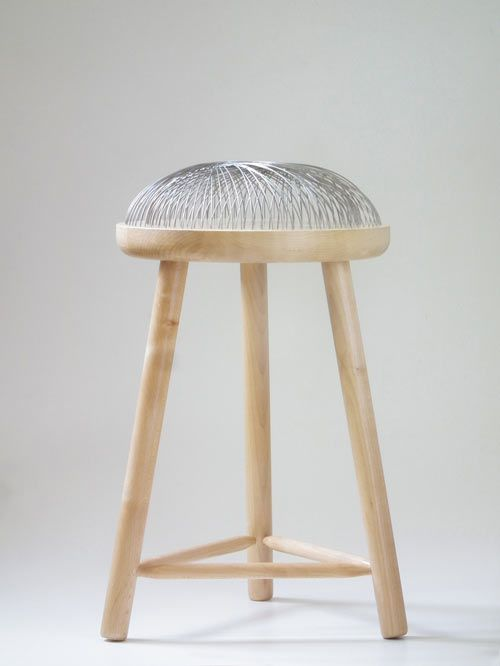 Toer has released Dome, a metal and wood stool that gives the impression you're sitting on air!