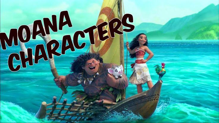 Moana characters / Disney princess ✔