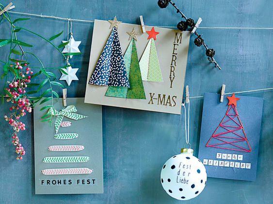 1000 ideas about weihnachtskarten selber basteln on for Originelle weihnachtskarten selber basteln