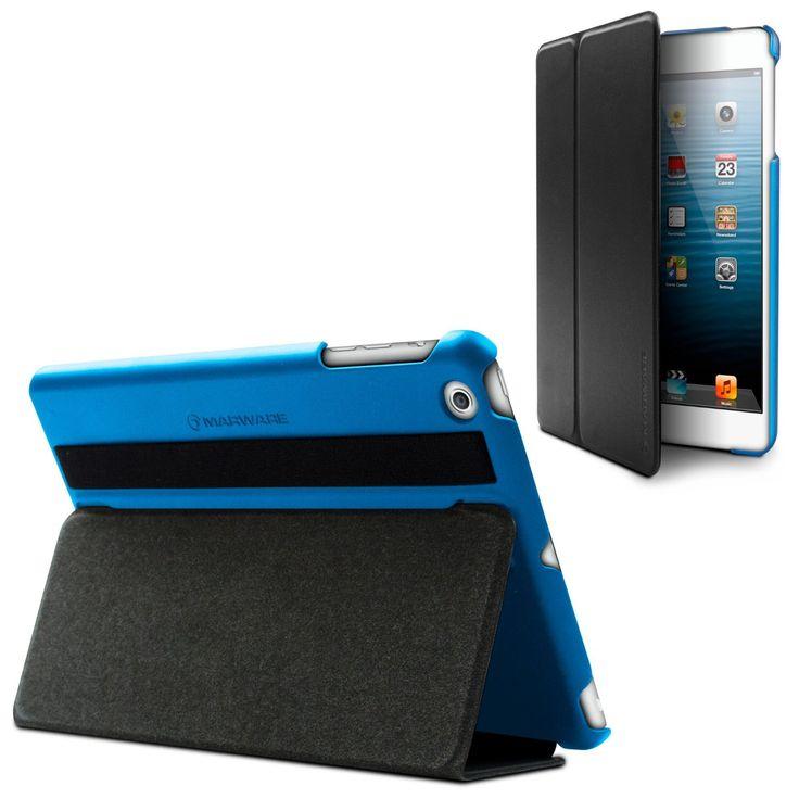 Marware MicroShell Folio - Μπλε (AIMF15) (iPad mini / mini Retina / mini 3) - myThiki.gr - Θήκες Κινητών-Αξεσουάρ για Smartphones και Tablets - Marware MicroShell Folio Blue