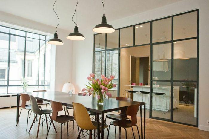 1001 id es pour l 39 am nagement de la cuisine semi ouverte cuisine cuisine design dinner - Idee amenagement cuisine semi ouverte ...